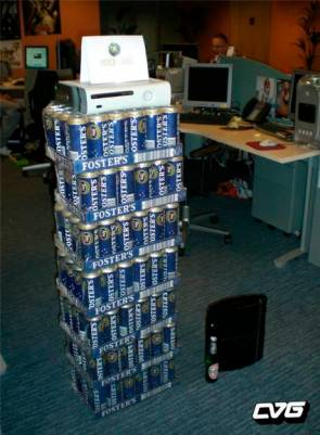 PS3 Vs X-Box 360 – The Beer Difference