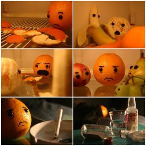 Sad Sad Fruit