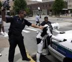 Star Wars Stormtrooper Under Arrest