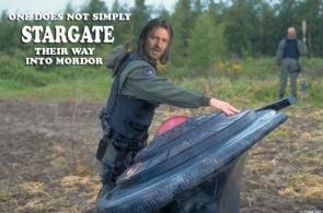 One Does Not Simply Stargate Their Way Into Mordor