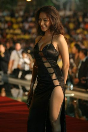 "Chotiros ""Amy"" Suriyawong's Black Dress"