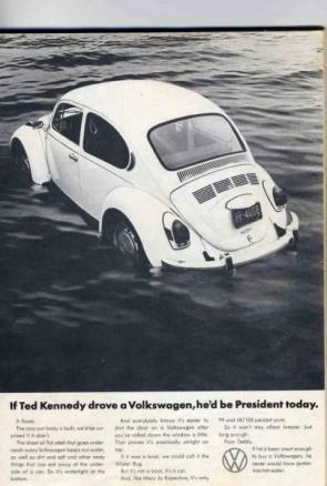Volkswagen Ted Kennedy Advertisement