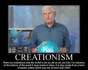 Creationism Motivational Poster