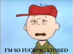 charlie brown is so high