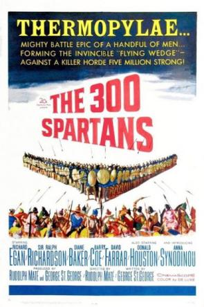 The 300 Spartans Movie Poster