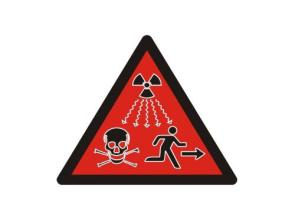 Atomic Warning Sign