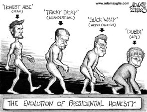 Evolution Of Presidential Honesty