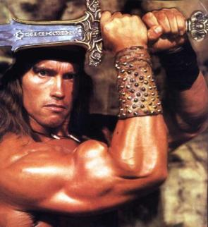 Conan Mighty Muscles