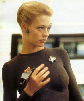 Jeri Ryan Is Sexy As Seven of Nine