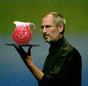 Steve Jobs Has Some Kool Aid