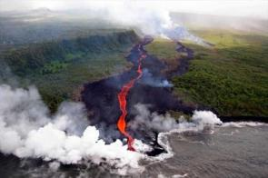 When The Lava Meets The Water