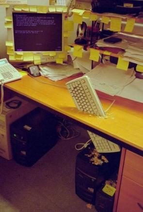 Computer Keyboard Prank