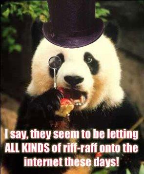 Pretentious Panda