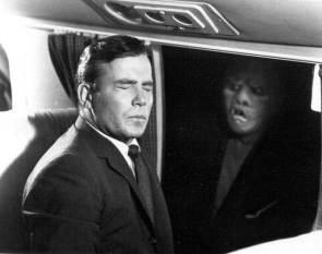 Bill Shatner in The Twilight Zone