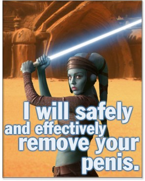 I will safely and effectively remove your penis