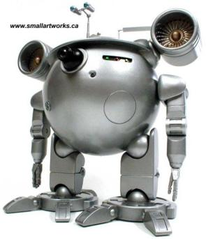 Round Jet Robot