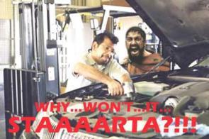300 Why Won't It STAAAARTA?!!!