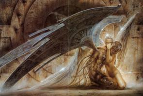 Techno Angel Wallpaper