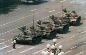 Tianaman Square Tank Man