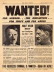 Hitler Wanted Poster
