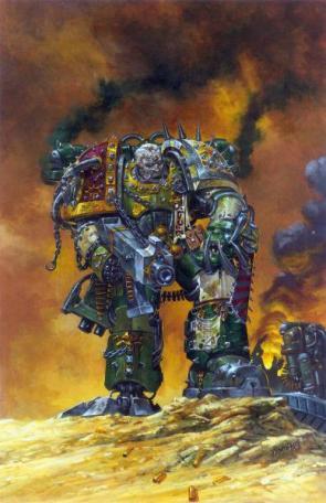 Warhammer 40k – Chaos Marine