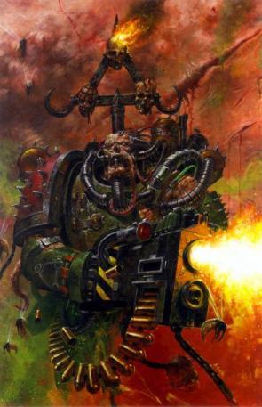 Warhammer 40k Chaos Marine – Flesh Melts