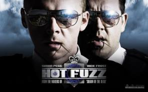 Hot Fuzz Movie Wallpaper