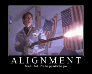 Alignment Motivational Poster