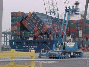 Cargo Ship Topple