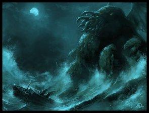 Cthulhu In The Ocean