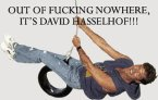 Out of fucking nowhere, it's david hasselhof!!!