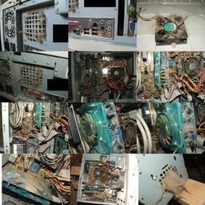 Dusty Computer Case