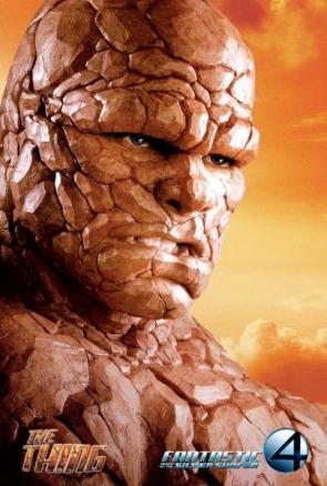 Fantastic Four – Rise of The Silver Surfer The Thing Movie Poster
