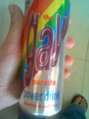 Gay Parade Power Drink