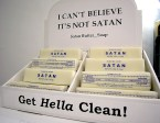 I can't believe it's not satan butter soap