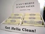 I can't believe it's not satan butter soap