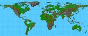 Global Warming World Map