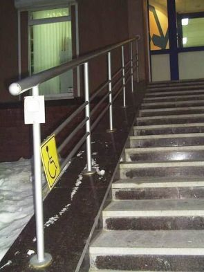 Handicapped Stairs