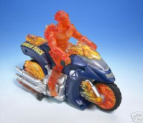 Human Torch Motor Cycle