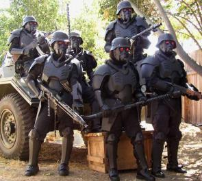 Kill Zone Cosplayers