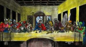 Justice League Last Supper