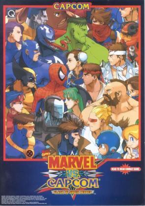 Marvel Vs Capcom Game Poster