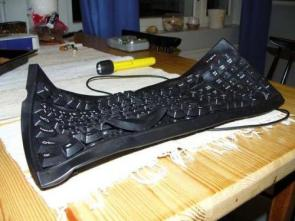 Melted Keyboard