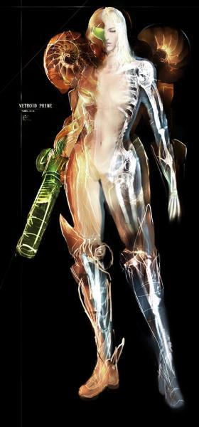 Metroid Prime Body Cutaway