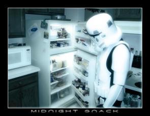 Star Wars Storm Trooper's Midnight Snack