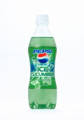 Pepsi Ice Cucumber Soda