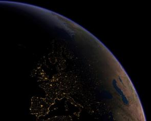 Planet At Night