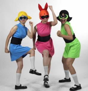 Real Life Power Puff Girls