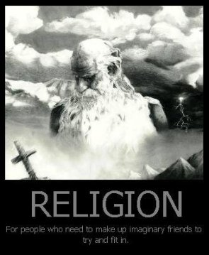 Religion Motivational Poster