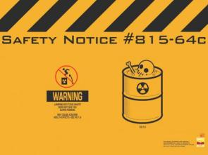 Toxic Waste Warning Wallpaper